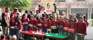 भाविप ने 314 जरूरतमंद विद्यार्थियों को वितरित किए जूते