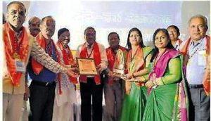 भारत विकास परिषद महाकाल शाखा प्रांतीय अवार्ड से सम्मानित