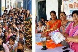 भारत विकास परिषद शाखा गुलाबपुरा के 11 दिवसीय अभिरुचि शिविर का समापन
