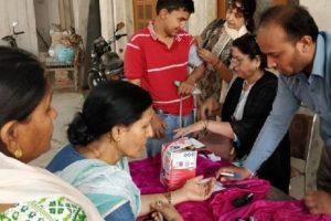 भारत विकास परिषद ने लगाया नेत्र जांच शिविर