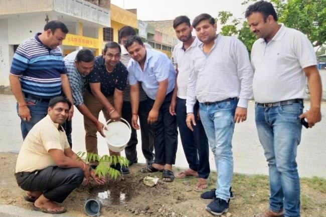 पर्यावरण को सचेत रखने के लिए परिषद चला रही है पौधरोपण अभियान