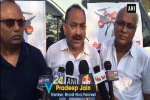 Drones shower seeds in Gurugram