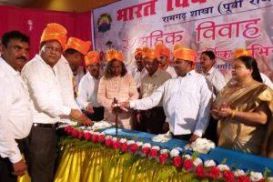 विभिन्न क्षेत्रों के 26 जोड़ों का सामूहिक विवाह का आयोजन किया गया
