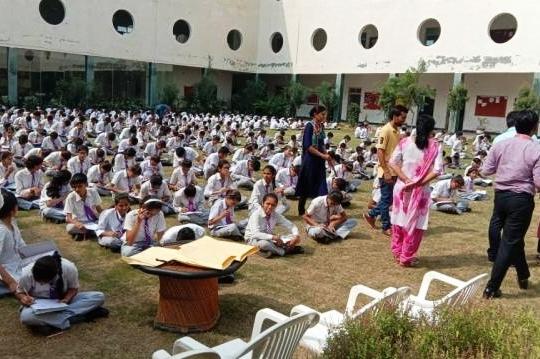 भारत को जानो प्रतियोगिता में 600 बच्चों ने लिया भाग