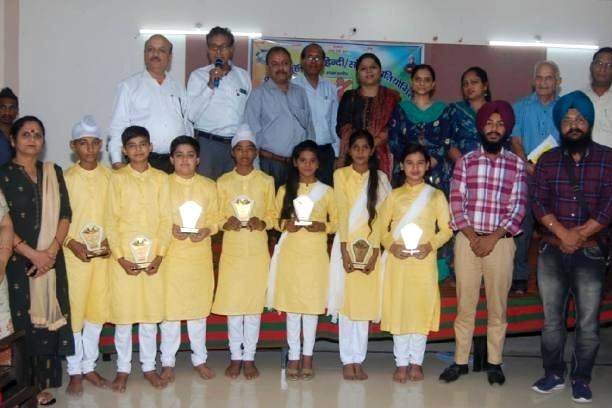 बठिडा शाखा ने राष्ट्रीय समूह गायन प्रतियोगिता का आयोजन किया