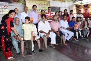 Free artificial limbs distributed to 23 physically-handicapped persons