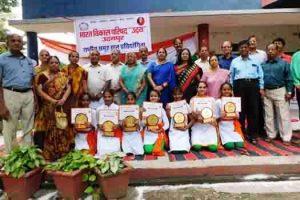 उदयपुर में राष्ट्रीय समूह गान प्रतियोगिता आयोजित की गई