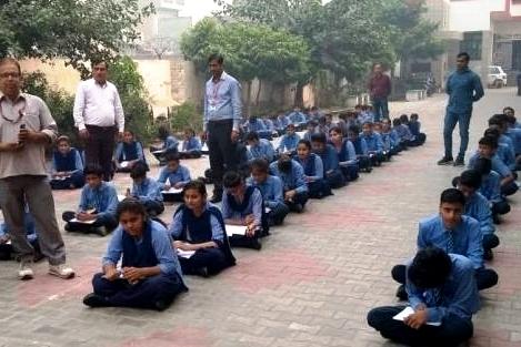 600 विद्यार्थियों ने भारत को जानो प्रतियोगिता में भाग लिया