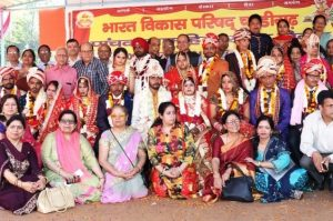 Wedding ceremony of 13 economic weaker couples organized