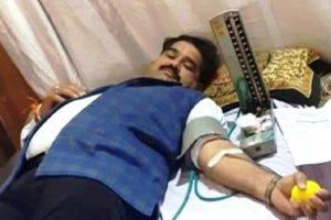 161 रक्तदाताओं ने रक्तदान किया