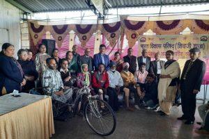 Free Artificial Limbs Distribution Camp on International Day Celebration