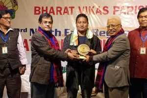 NK Naga bags National Patriotic Song Award