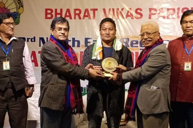 NK Naga bags National Patriotic Song Award