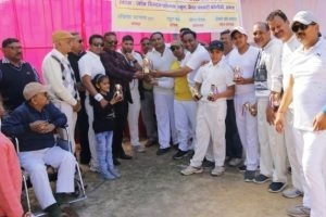 परिषद ने एक दिवसीय मैत्रीय क्रिकेट मैच का आयोजन किया