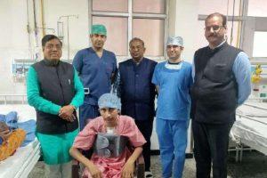 परिषद चिकित्सालय के डॉक्टरों ने दिल के मरीज  का कठिनऑपरेशन कर एक बड़ी उपलब्धि प्राप्त की