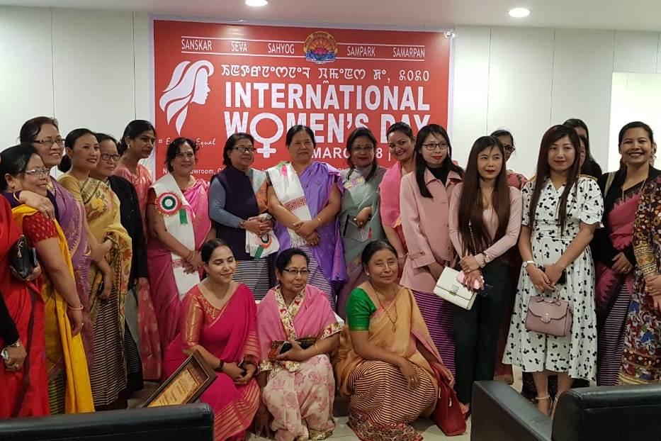 Manipur Prant Celebrates International Women's Day