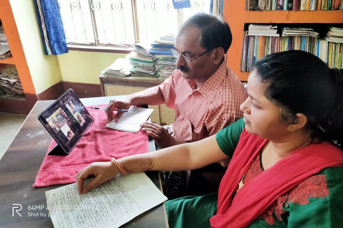 उत्तर बिहार प्रांत के पदाधिकारियों की वीडियो कॉन्फ्रेंसिंग के जरिए एक महत्वपूर्ण बैठक