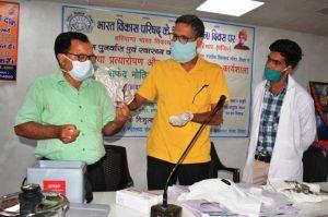कोरोनिया प्रत्योरापण और अंधमुक्त भारत पर कार्यशाला का आयोजन