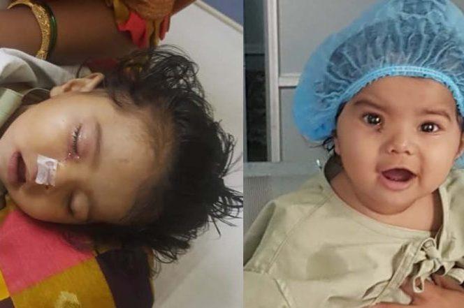 4 माह की बच्ची के ऑपरेशन हेतु परिषद द्वारा 45000 का आर्थिक सहयोग