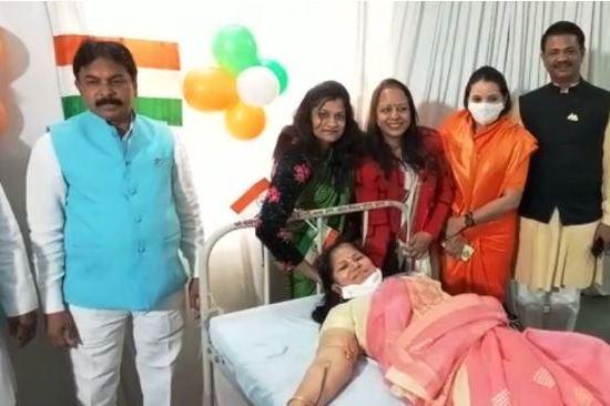 गणतंत्र दिवस के उपलक्ष्य में कईं स्थानों पर रक्तदान शिविर का आयोजन