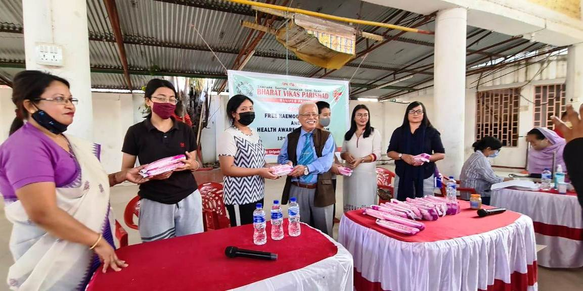 Manipur Prant organises free haemoglobin test and health awareness programme