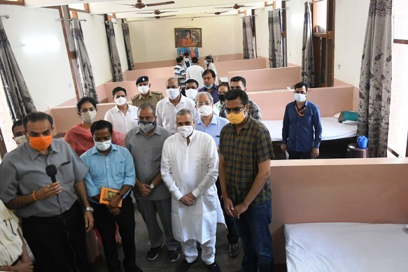 Parishad establishes 50-bed Covid Care Centre at Chandigarh