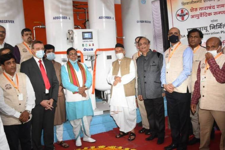 Parishad sets up an oxygen plant at Pune